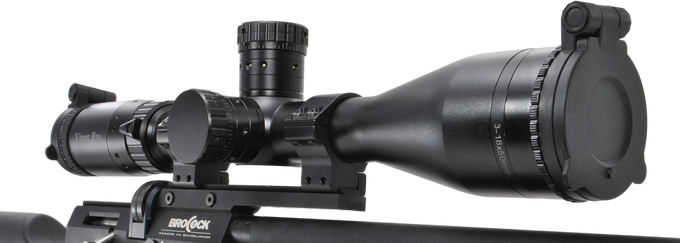 Brocock Compatto MTC Optics viper Pro 3-18x50