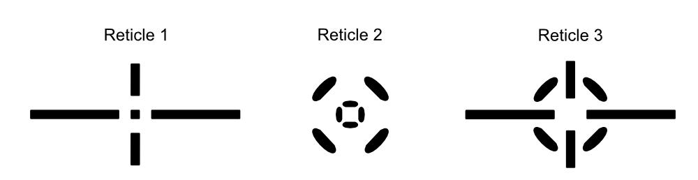 MTC Optics Range Finder Reticles