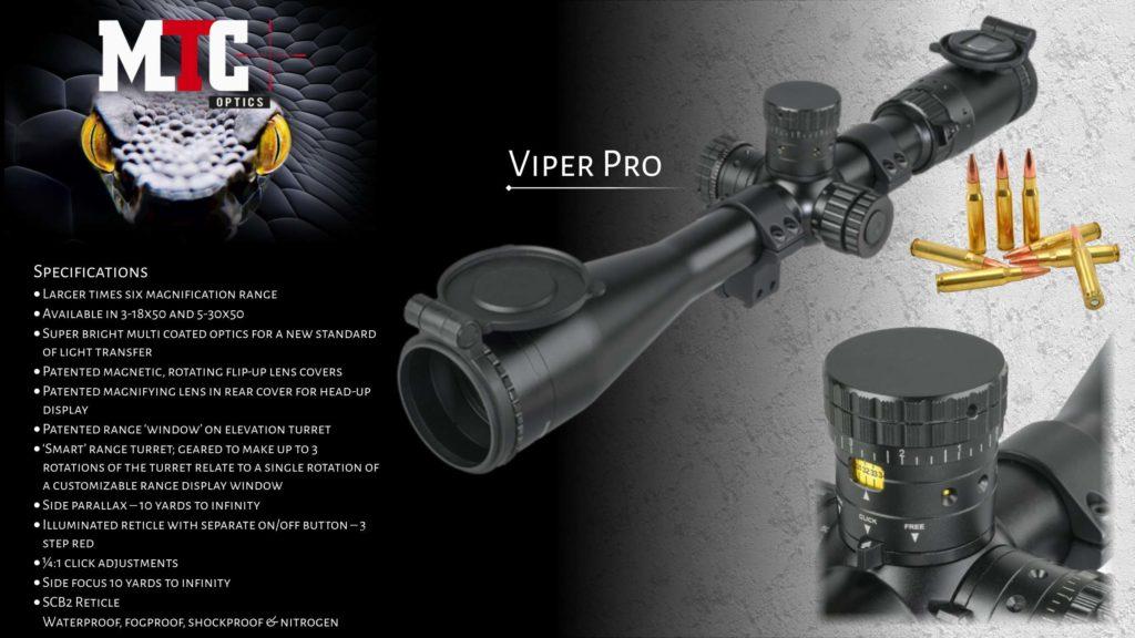 MTC Optics USA Home Page Slider Viper Pro